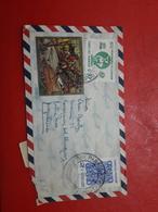 Le Paraguay Enveloppe Circulé En Argentine Une Grande Quantité De Timbres - Paraguay