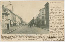 Marchienne Au Pont Charleroi Route De Mons Avant 1903 Vers Hesdin 62 - Charleroi