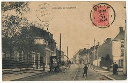 Gilly  Charleroi Chaussée De Chatelet Ligne De Tram Club Deltiology RECP Vers Cuba - Charleroi