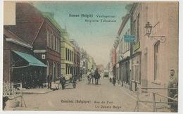 Comines Komen Rue Du Fort Douane Belge Tolkantoor Colorisée - Comines-Warneton - Komen-Waasten