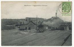 Bouffioulx Chatelet Agglomérés D' Ormont Mine Train Edit Duvivier Bolle Taxée Au Vesinet France - Châtelet