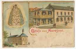 Gruss Aus Moresnet Plombieres Litho Couleur Baum Reul Restaurant - Plombières