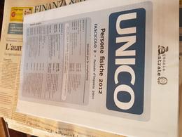 ITALIA UNICO PERSONE FISICHE 2012 - Non Classificati