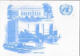 CARTOLINA O.N.U. AMMINISTRAZIONE FILATELICA - NUOVA - Poste & Postini