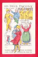 Illust-1633A45  MARECHAUX Les Deux Façons De Mal Tourner, Cpa BE - Autres Illustrateurs