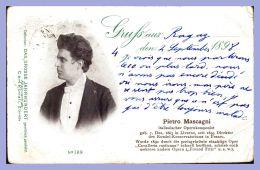 CPA - Célébrité - 189. Pietro Mascagni - Compositeur Italien - Musique Et Musiciens