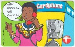 HONGKONG A-101 Magnetic Telecom - Cartoon, Communication, Phone Booth - Used - Hong Kong