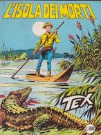 °°° Tex Tre Stelle L'isola Dei Morti N.231 1983 °°° - Tex