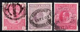 Grande-Bretagne YT N° 87, N° 118 Et N° 119 Oblitérés. B/TB. A Saisir! - 1840-1901 (Victoria)