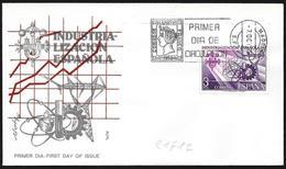 Spagna/Spain/Espagne: FDC, Industrializzazione Spagnola, Spanish Industrialization, Industrialisation Espagnole - Fabbriche E Imprese