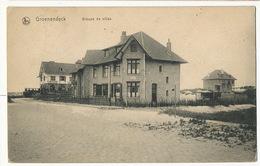 Groenendyck Groupe De Villas Nels Edit A. Bishops Nieuport Bains Cachet Veurne Furnes - Nieuwpoort