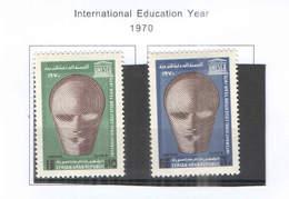 Syria PA 1970 Anno Int.Educazione Scott.C 474+475 NEW  See Scan On Scott.Page; - Siria