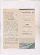 DEPLIANT TROUVILLE SUR MER DPT 14 - Tourism Brochures