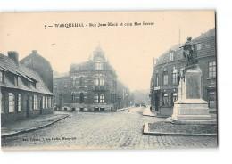 CPA 59 Wasquehal Rue Jean Macé Et Coin Rue Ferrer - France