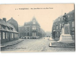 CPA 59 Wasquehal Rue Jean Macé Et Coin Rue Ferrer - Andere Gemeenten