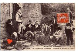 35530-ZE-56-La Bretagne Pittoresque-Une Histoire De Revenants -(Costumes Des Environs De Pontivy)----animée-folklore - Pontivy
