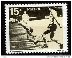POLOGNE   N° 2677   * *  Cup  1982  Football Soccer Fussball - 1982 – Espagne