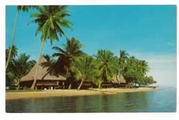 CPSM TAHITI VUE MATINALE DE L'HOTEL BALI HAI A MAHAREPA MOOREA - Tahiti