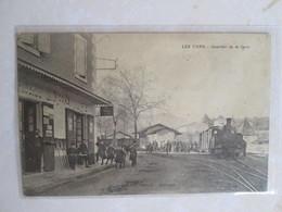 Les Vans .quartier De La Gare .train - Les Vans