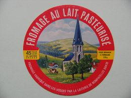 Etiquette Fromage - L'Eglise Du Pays - Fromagerie De Nompatelize 88 - Vosges  A Voir ! - Formaggio