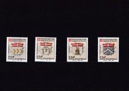 Orden De Malta Nº 794 Al 797 - Malte (Ordre De)