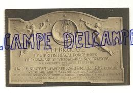 Belgique. Zeebrugge. La Tablette Du Vindictive. The Vindictive's Tablett. Phototypie A. Dohmen - Monuments