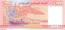 DJIBOUTI P. 42a 1000 F 2005 UNC - Dschibuti