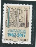 FRANCE 2017 CINQUANTE CINQ ANS DU CESSEZ LE FEU EN ALGERIE OBLITERE - YT 5133 - Used Stamps