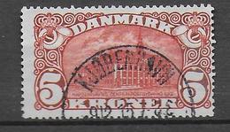 DANEMARK - 1913 - YVERT N° 84 OBLITERE FILIGRANE B - COTE = 160 EUR. - Used Stamps