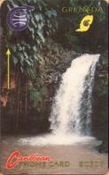Grenada - GPT, GRE-3A, Waterfall, 3CGRA, 20 EC$, 15,500ex, 1991, Used As Scan - Grenada
