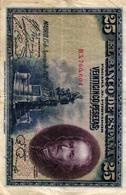 EL BANCO DE ESPANA - 25 PESETAS - 1928 - [ 1] …-1931 : Eerste Biljeten (Banco De España)