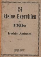 Spartito JOACHIM ANDERSEN 24 KLEINE EXERCITIEN Per Flauto - HYMNOPHON Berlino - Spartiti