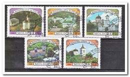 Moldavië 1996, Gestempeld USED, Castles - Moldavië