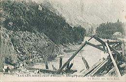 ESPAGNE - LES LES BAINS (VAL D'ARAN) Antigo Puente De Rey Caido - Rare - Carte Postée - Espagne
