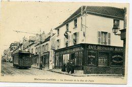78 - MAISONS LAFFITTE - La Descente De La Rue De Paris. - Maisons-Laffitte