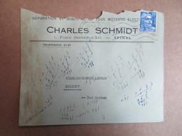 Enveloppe Avec Entête -  Réparation Et Bobinetterie De Tous Moteurs électrique - Charles Schmidt - Poststempel (Briefe)