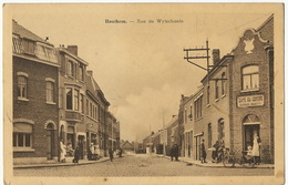 Houthem Comines Rue De Wytschaete Cachet 1943 Colonie PA Section Allemande - Comines-Warneton - Komen-Waasten