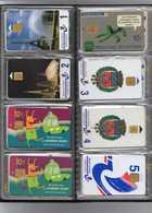 CLASSEUR AVEC LOT DE 40 CARTES DE STATIONNEMENT PIAF - PARIS - TOUTES DIFFERENTES - Parkkarten