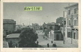 Lazio-civitavecchia Calata Cesare Laurenti Veduta Anni 30 - Civitavecchia