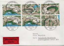 Postal History Cover: Germany Olympic Games Set On Express Cover - Summer 1972: Munich