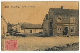 Longvilly Bastogne Centre Du Village Edit Preaux à Ghlin Magasin A L' Economie - Bastogne