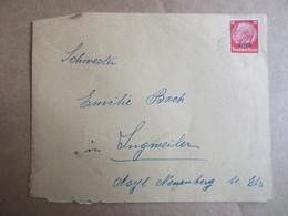 Enveloppe Avec Timbre Du -  Deutches Reich - Marcophilie (Lettres)