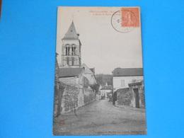 02 ) Vailly-sur-aine - Rue Des Be??? Et Abside De L'eglise Notre-dame -  Année  - EDIT - Blanchot - Other Municipalities