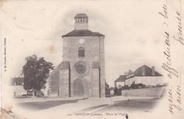 23 /GOUZON / PLACE DE L EGLISEB / PRECURSEUR 1904 - Other Municipalities