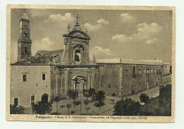 PUTIGNANO - CHIESA DI S.DOMENICO - ORFANOTROFIO ED OSPEDALE CIVILE -  VIAGGIATA  FG - Bari