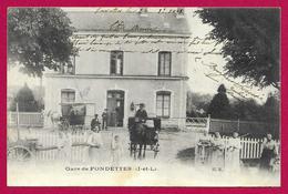 CPA Fondettes - Gare De Fondettes - Fondettes