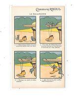 CPA Publicitaire Chaussures Raoul Illustrée Par BENJAMIN RABIER : La Balançoire - Rabier, B.