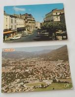 MAZAMET - 81 - Lot De 2 Cartes - Cours René Reille + Vue Générale. - Mazamet