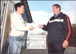 Liechtenstein 2008: EUROPA (Briefe Zu 1413 Mi 1470 Yv 1411 Auf MK 280 (Zu CHF 6.00) - Poste