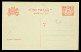 ONBESCHREVEN BRIEFKAART VOORDRUK  Nvph 108 12 1/2 CENT   Uit 1891 (11.447i) - Entiers Postaux